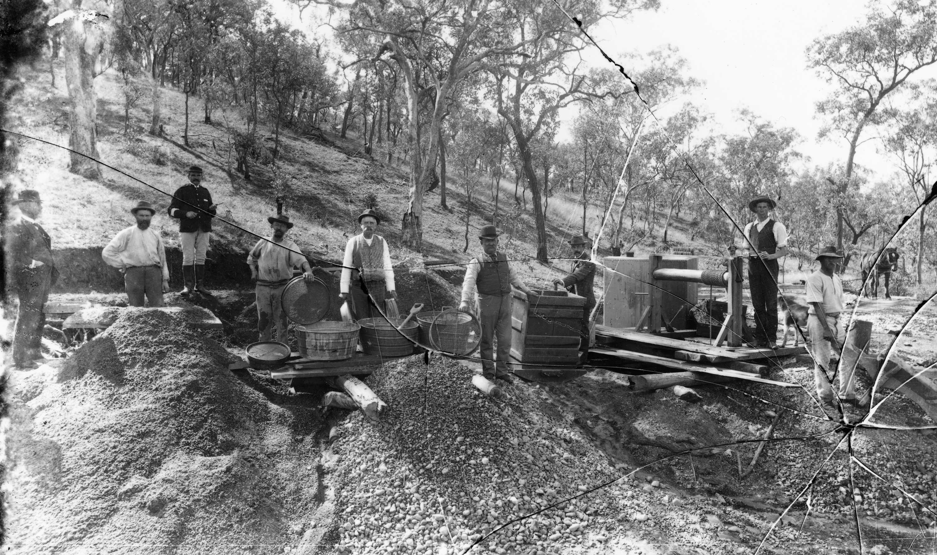Early Gold Days in Australia | The Monk's Pictures