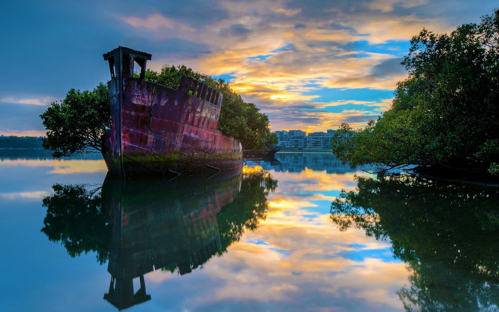 SS Ayrfield Homebush Bay Sydney